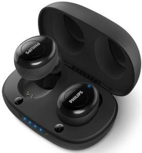 Philips UpBeat TAUT102BK True Wireless (TWS) Bluetooth Earbuds