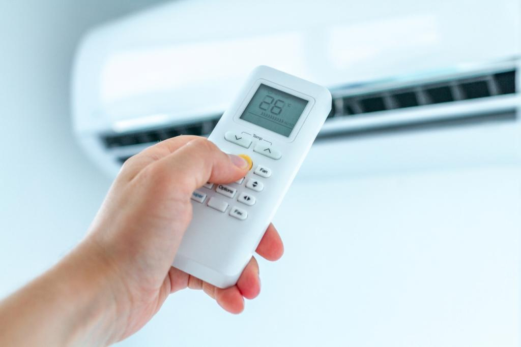 How to Unlock Voltas AC Remote