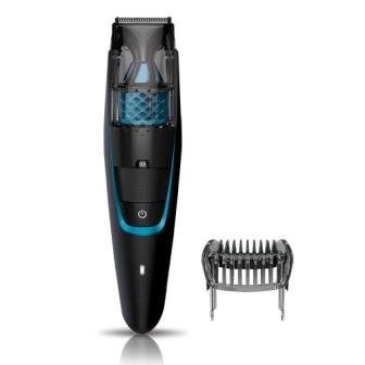 Philips Vacuum Beard Trimmer Cordless and Corded for Men BT7206