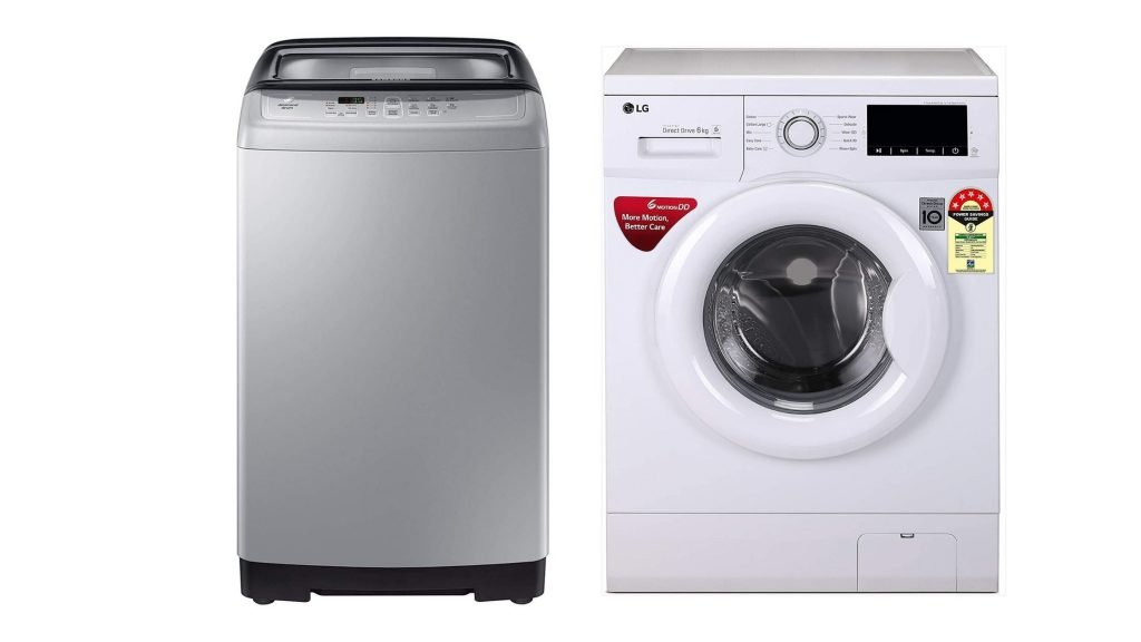 What is the Difference Between Front Load and Top Load Washing Machine