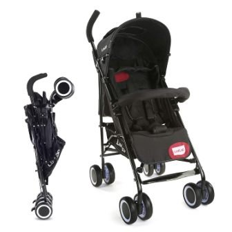 LuvLap City Buggy, Compact & Travel Friendly, for Baby 6-36 Months