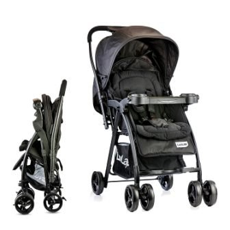 LuvLap Joy Stroller, Compact and Easy Fold, for Newborn Baby, 0-3 Years