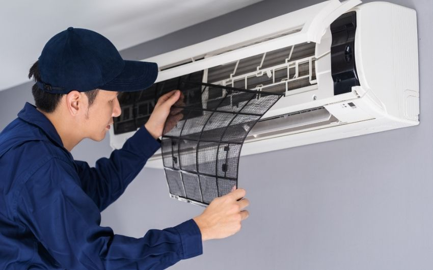 Air Conditioning Filter Cleansing and decontaminating