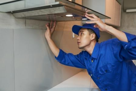 How to clean the kitchen Chimney And Filter