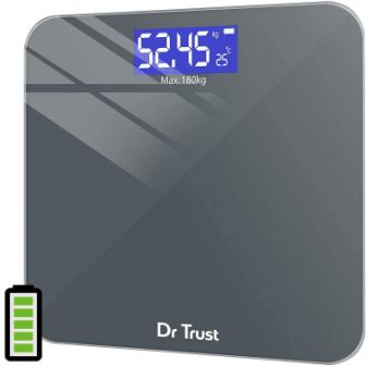 Dr Trust Electronic Platinum Digital Personal Weighing Scale