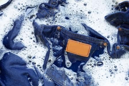 Tips for washing jeans in a washing machine