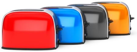 What are the different types of toasters